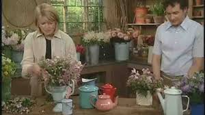 video how to arrange flowers in enamel pots martha stewart weddings