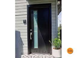 Door Exterior Glamorous Modern Exterior Front Doors With Glass Design