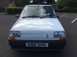 renault car 1990 sold 1990 renault 5 campus only 14 565 miles mathewsons