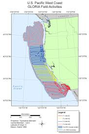 Map Of Mexico West Coast by Usgs Ofr 2010 1332 U S Eez Pacific West Coast Gloria Field