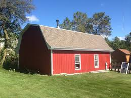 paint behr premixed barn red siding and fence stain from home