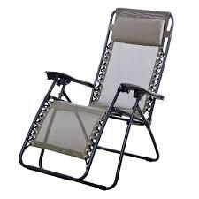 outdoor lounge chair zero gravity folding recliner patio pool yard