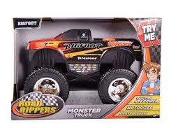toy bigfoot monster truck 4 4 monster truck u2013 big foot lights u0026 sound u2013 joybox