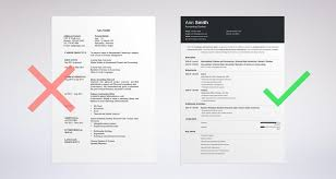 Bad Examples Of Resumes by How To Choose The Best Resume Layout Templates U0026 Examples