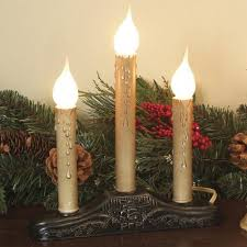 plain design candle lights for windows electric designs