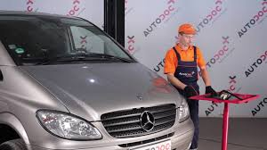 how to replace front wiper blades on mercedes benz viano w639