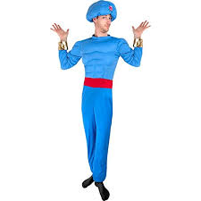 Alladin Halloween Costume Aladdin Genie Costumes Funtober
