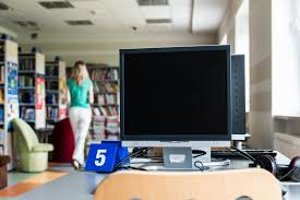Classroom Computer Desk by Free Images Read Reading Room Education Classroom Rent