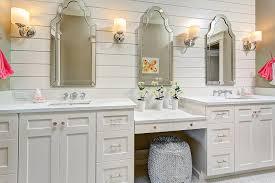 Off White Bathroom Vanities by Triplet Bathroom Transitional Bathroom Clark And Co Homes