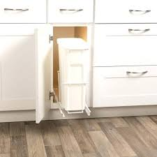kitchen cabinet garbage can cabinet door garbage can cabinet trash can holder under sink