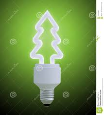tree light bulb decor