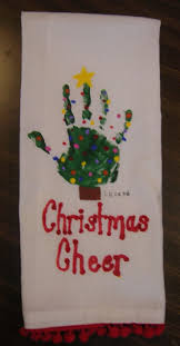 handprint christmas cards christmas lights decoration