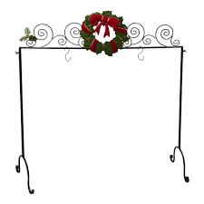 wreath freestanding christmas stocking holder christmas tree