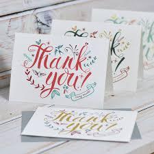 wedding thank you cards notonthehighstreet com