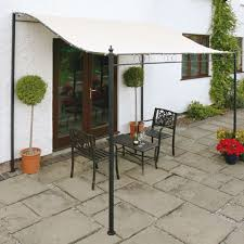 Patio Canopies And Gazebos Wall Mounted Gazebo Shelter 2 5m X 2m Oudoor Garden Shade
