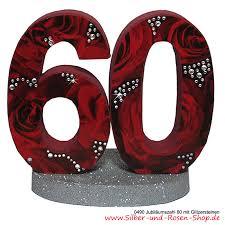 60 hochzeitstag geschenke deko diamantene hochzeit funkelnde dekorationen für ihr