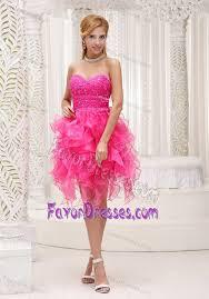 middle school graduation dresses hot pink middle school graduation dresses with ruffles
