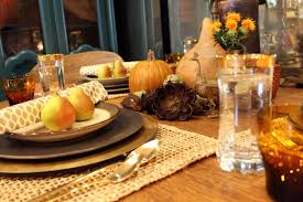 stylish thanksgiving tablescape ideas hotpads