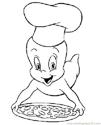 casper coloring pages kids coloring