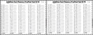 worksheet math fact fluency worksheets luizah worksheet and