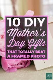 special mothers day gifts 10 diy s day gifts that totally beat a framed photo huffpost