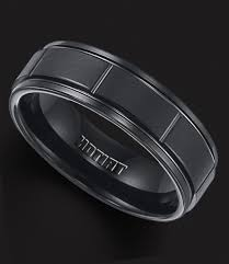 black wedding bands for men black wedding band