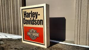 harley davidson lighted signs 1980 harley davidson lighted dealer sign 60x72 k107 las vegas