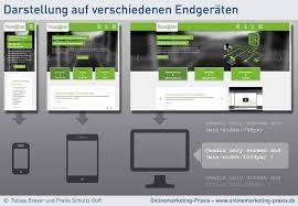 webseiten design was ist responsive webdesign onlinemarketing praxis