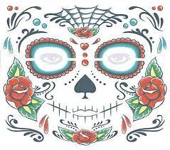 mardi gras skull mask beauty fancyqube gift day of the dead dia de los muertos mask