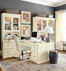 office classic computer desk and storage for home office design