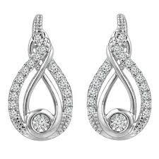 earrings diamond diamond earrings diamond studs ernest jones