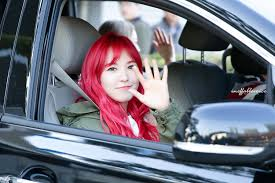 red velvet car 12 photos of red velvet wendy u0027s constantly changing eye colors