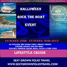 halloween rock the boat open bar all inclusive cruise 2017