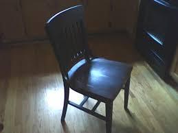 Milwaukee Chair Company Hale Desk Company Milwaukee Chair Company 1928 Chair Antique