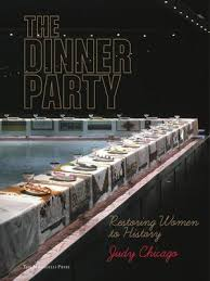 judy chicago dinner table the dinner party by judy chicago overdrive rakuten overdrive