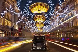 christmas lights london tour