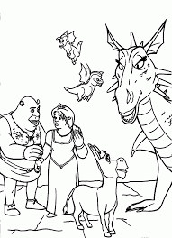 13 pics of baby donkey from shrek dragon coloring pages donkey