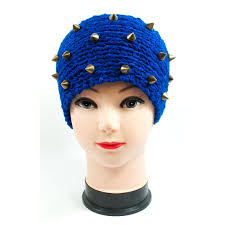 knitted headbands knitted headbands with spike studs wholesale