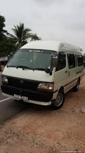 toyota dolphin rent a car in sri lanka van hire with driver in sri lanka