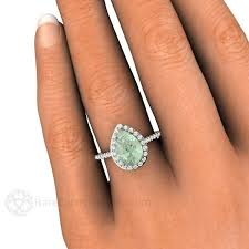 green amethyst engagement ring best 25 amethyst engagement rings ideas on green
