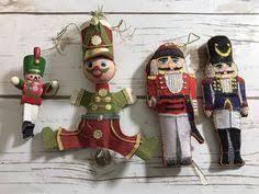 nutcracker soldier glass ornament ornaments