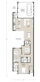 single story small house plans excellent idea 14 one story house plans wide lots narrow lot plans