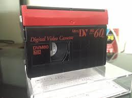 dv cassette one blank authentic sp60 lp90 minutes dvm60 mini dv digital