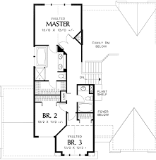 tri level floor plans tri level narrow lot plan 69373am architectural designs