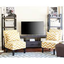 apartment ah city grove black and charcoal tv stand for tvs up to