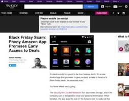 amazon black friday app deal amazon com black friday scam phony amazon app promises early