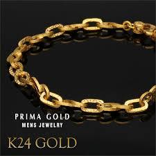 bracelet man images Prima gold japan 24 karat gold bracelet man men chain bracelet jpg
