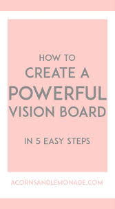 How To Make A Resume Step By Step How To Create A Powerful Vision Board Lemonade And Board