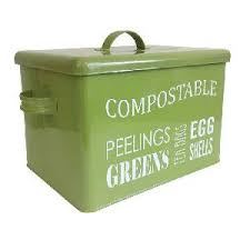 compost canister kitchen kitchen compost bin from composting allotment shop