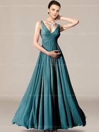 bridesmaid dresses teal v neck length modern bridesmaid dress